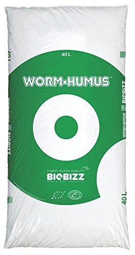 BioBizz 05-225-015 Sac d'Humus Worm, Transparent, 40 L