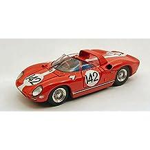 FERRARI 275 P N.142 DQ ILLEGAL REFUEL NURBURGRING 1964 HILL-IRELAND 1:43 Art Model Auto Competizione modello modellino die cast