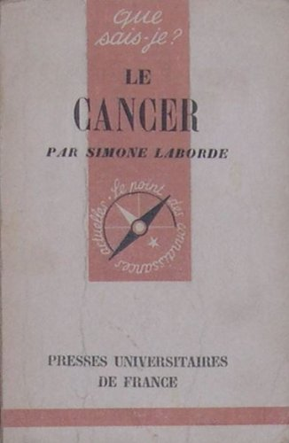 Le cancer par Laborde Simone