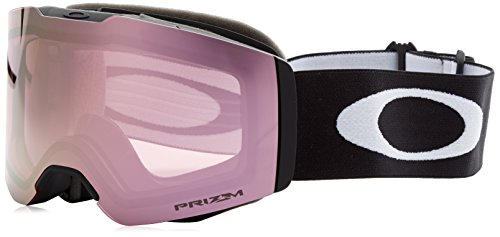 Oakley Unisex-Erwachsene Fall Line 708506 0 Sportbrille, Schwarz (Matte Black/Prizmsnowhipinkiridium), 99
