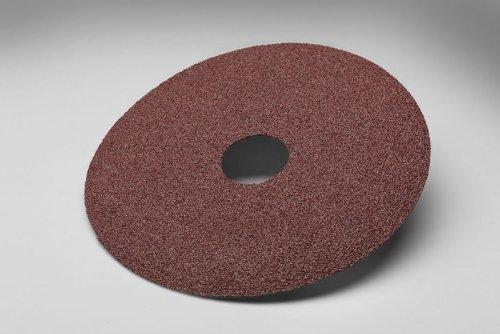 3M 381C beschichtet Aluminiumoxid Fiber Disc, 24Körnung–41/2in Dia 7/8in Center Loch–13300Max U/min–77595[Preis ist pro Disc]