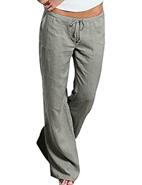 Aiweijia Pantalones Acampanados
