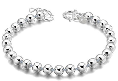 SaySure01 - 925 sterling silver bracelets jewelry full glossy Bracelet