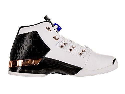 Nike Herren Air Jordan 17 + Retro Basketballschuhe, Talla Blanco (White / Mtlc Cpprcn-Blk-Sprt Ryl)