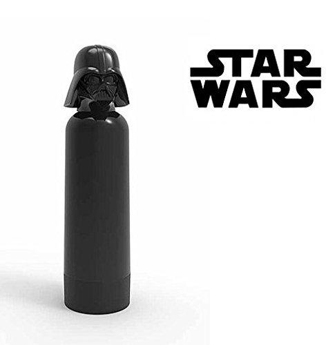 Star Wars 3D Trinkflasche, Fassungsvermögen 400ml - für Unterwegs oder Zuhause - Ideal für Sport, Schule, Kindergarten, Ausflüge, Wanderungen uvm.