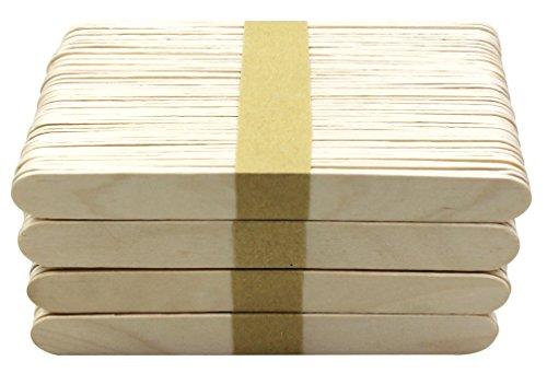 Zungenspatel aus Holz Holz Jumbo Craft Sticks 15cm Länge 500PCS