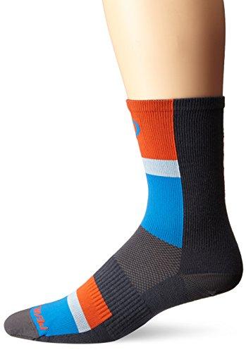 PEARL IZUMI Elite Herren Socken, hoher Schnitt, Unisex, Long Stripe Blue -