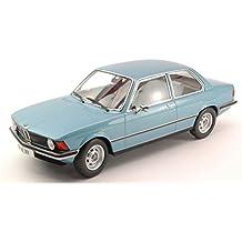 KK SCALE KK180042 BMW 318i (E21) 1975 LIGHT BLUE METALLIC 1:18 DIE CAST MODEL