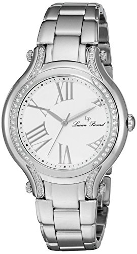 Lucien Piccard Womens Analogue Quartz Watch with Stainless Steel Strap LP-16353-22-SA