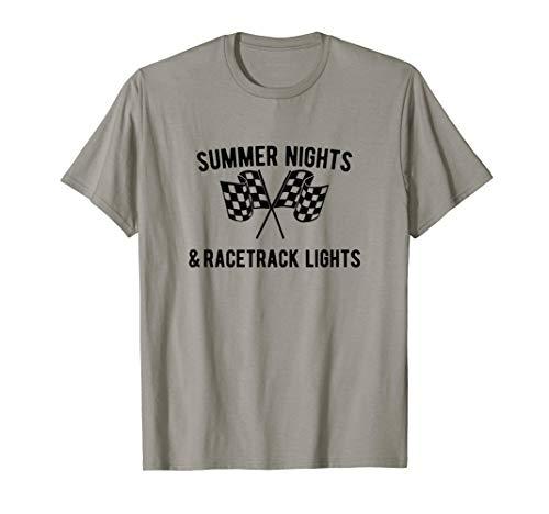 Sommernächte Und Rennstrecke Lichter Drag Racer T-Shirt Drifter Shift