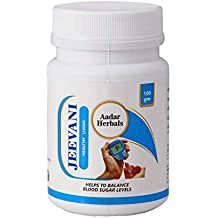 AADAR Herbals JEEVANI Ayurvedic Powder for Diabetes and Detox 100 GM, with Neem and Aloe Vera