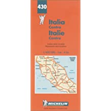 Central Italy (Michelin Maps)