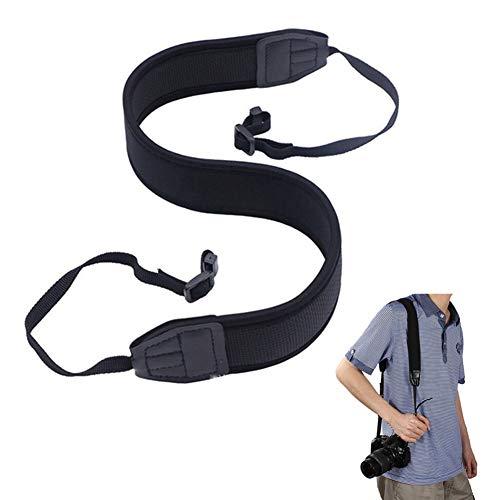 Kameragurt, Kameragurt, Anti-Rutsch-DSLR-Kamera, Neopren Nacken/Schultergurt für Canon, Nikon, Sony und weitere digitale Spiegelreflexkameras