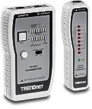 TRENDnet Netzwerkkabeltester, Testet Ethernet-, USB- und BNC-Kabel, Prüft präzise Pin-Konfigurationen für Kabellängen von bis zu 300 Metern (984 ft), TC-NT2