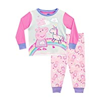 Peppa Pig Girls Unicorn Pyjamas