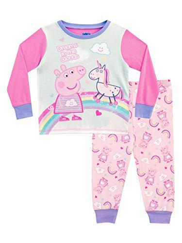 Peppa Wutz Mädchen Peppa Pig Schlafanzug Rosa 110