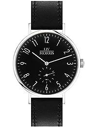 Parnis Liv Morris Bauhaus Triton 1963 - Reloj de pulsera automático (para hombre, cristal de zafiro, 41 mm de diámetro), diseño de estilo Bauhaus