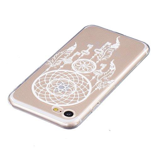 iPhone 7 Hülle Transparent,iPhone 7 Hülle Silikon,iPhone 7 Hülle Clear,iPhone 7 Hülle Glitzer,iPhone 7 Crystal Clear TPU Case Hülle Klare Ultradünne Silikon Gel Schutzhülle Durchsichtig Rückschale Etu TPU 20