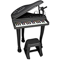 Bontempi 10 4000 Electronic Grand Piano with Microphone/Legs and Stool