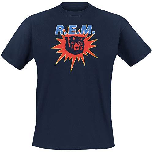 REM Monster T-Shirt Navy XXL (Rem-shirt)
