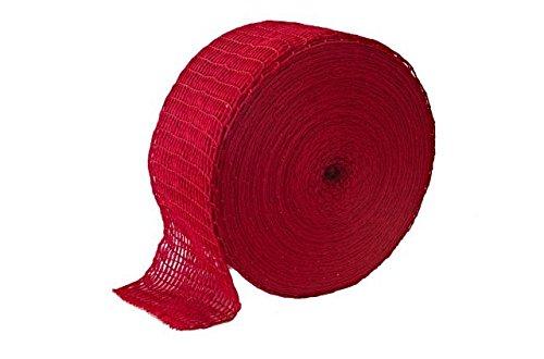 Räuchernetz 150/48 - 10M ROT - Fleisch netz | Fleischnetz | Lachsschinken Netze | Rollbraten Netz |...