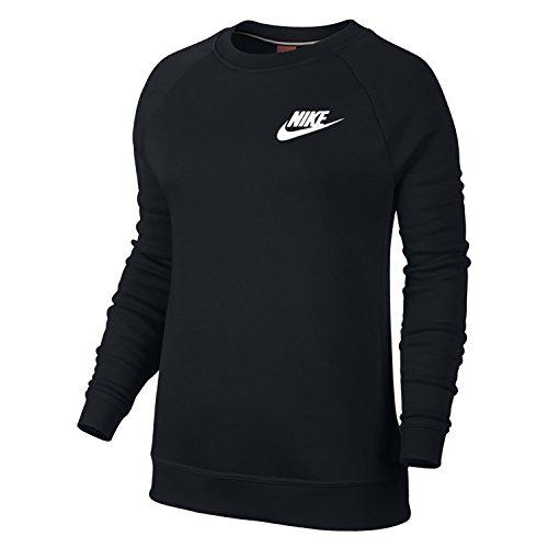 Nike RALLY W NSW caramote tgs-shirt Langarm für Damen L Negro (Black / Black / White) Preisvergleich