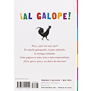 Al Galope!: Un Libro de Scanimation