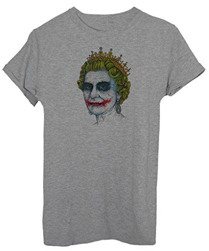 T-Shirt QUEEN JOKER - DIVERTENTI - by iMage Grigio