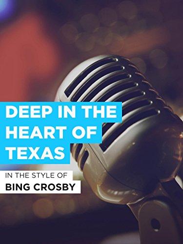 Deep In The Heart Of Texas im Stil von
