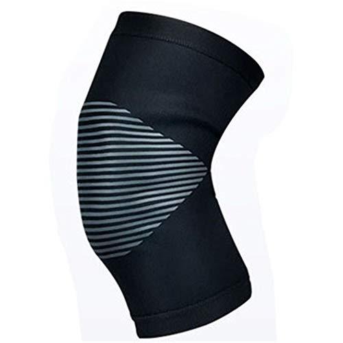 WXQQ SportKniebandage Rutschfester Knieschoner für Damen und Herren stabilisiert Meniskus Bänder und Patella beim Sport und im Alltag atmungsaktive Knieorthese für schmerzlinderung