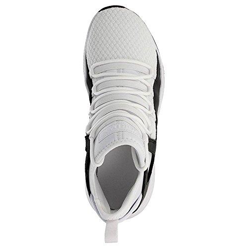 Nike Air Jordan Formula 23 BG Scarpe Sportive Alte 881468 Scarpe da Tennis BIANCO NERO 100%