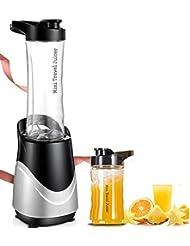 Mezclador de licuadora de potencia Extractor de alimentos de alta velocidad Juicer Smoothies Maker, Frutas