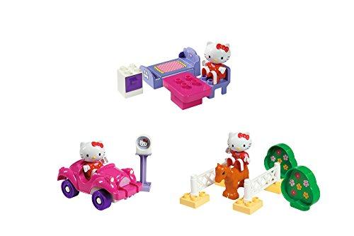 BIG 57043 - PlayBIG Bloxx Hello Kitty Starter Set 2, sortiert (Hello Kitty-tische Und Stühle)