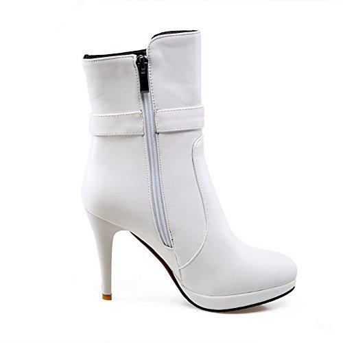 AdeeSu , Sandales Compensées femme Blanc