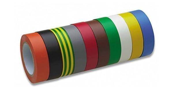 Certoplast Isolierband 15mm//10m gelb//grün Isoband Elektro Elektriker