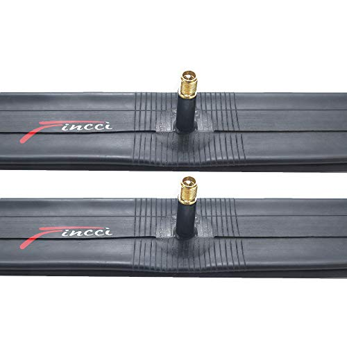 Fincci Paar 20 x 1,75 1,95 2,0 2,1 2,125 Zoll 33mm Autoventil Schläuche Fahrradschlauch für BMX Mountainbike MTB Fahrrad oder Kinderfahrrad (2er Pack)