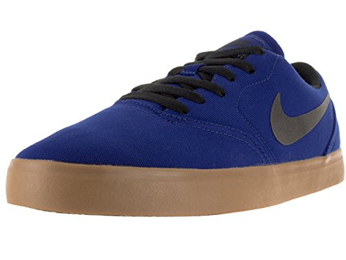 Nike Sb Check CNV Skate Shoe Dp Royal Blue/Blk/Gm Lght Brwn