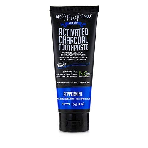 My Magic Mud Zahnpasta aus Aktivkohle, 113 g - Pfefferminze Whitening Zahnpasta
