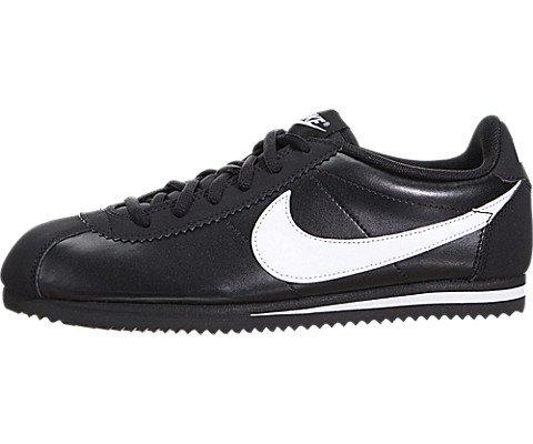 Nike-Cortez-GS-Zapatillas-de-Running-para-Hombre-Blanco-Black-White-385-EU