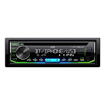 JVC KD-R992BT Single Din CD/Radio Player with Built-in Bluetooth