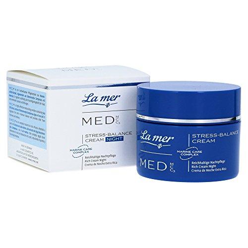 La mer: MED Stress-Balance Cream Nacht ohne Parfum (50 ml)