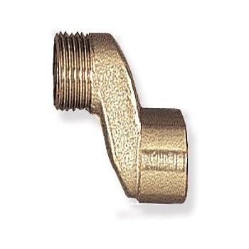 acquastilla 104913/Verbindungsst/ück Exzenter retrogruppo Nickel