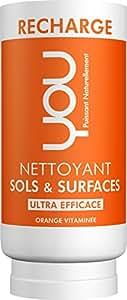 YOU - Recharge pour Nettoyant Sols et Surfaces Orange Vitaminée - 100 ml