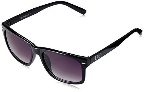 Dice Unisex Sonnenbrille, shiny black/smoke, one size, D06210-28