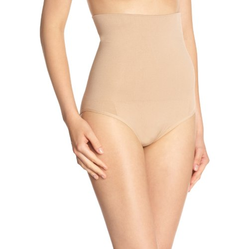 Skin'Up Damen Strumpfhalter  Culotte ceinture sculptante micro-encapsulée ,Uni Beige - Beige (Dune)