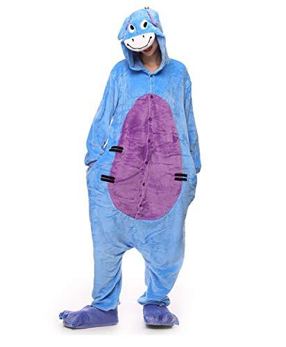 YLOVOW Weihnachten Halloween Kostüme Kigurumi Onesie Animal Cosplay,M