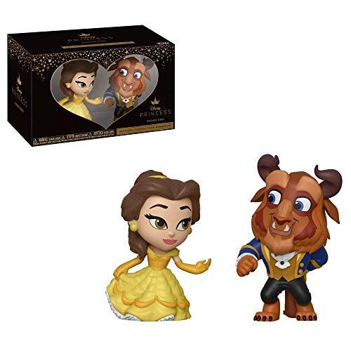 nce Series: Disney Princess - Beauty and The Beast - 2 x Mini Vinyl Figuren, 6cm ()