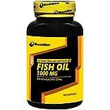 MuscleBlaze Omega 3 Fish Oil 1000 mg (180mg EPA and 120mg DHA) - 90 capsules