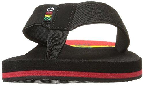 DVS Shoes Chaussures de Skateboard Pour Homme Multicolore Rayures Bleues Schwarz
