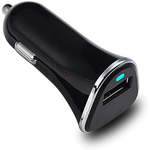Esonstyle Cargador rápido cargador USB 3.0 del control de calidad del coche para el iPhone 7 / 6s Plus / Plus 6/6 / 6s / 5s Samsung Galaxy Tablet Smartphone y